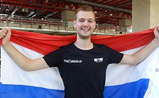 Mats Valk Europees kampioen 3x3!