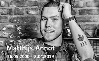 Matthijs Annot overleden